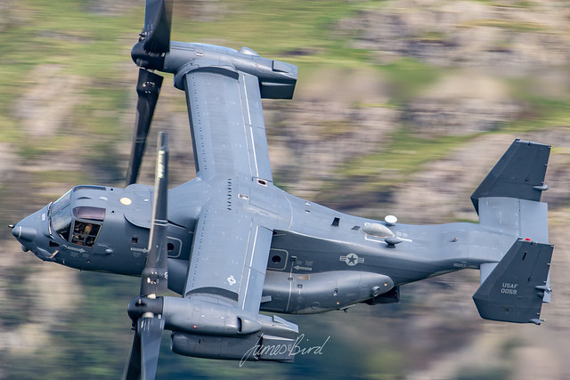 CV-22B Osprey 11-0059 'KNIFE71' low level in the English Lake District