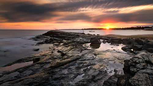 2020 connecticut connecticutphotographer d750 evening le landscape landscapephotographer longexpose longislandsound madison madisonbeach naturephotographer nikon seascape september summer sunset westwharfbeach digital rockybeach unitedstates