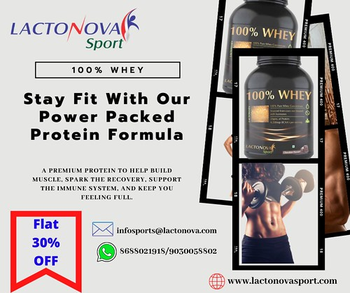 Whey Protein - 100% WHEY | Whey Protein for Weight Loss - Lactonovasport