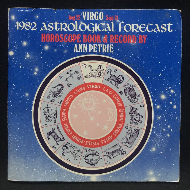 Ann Petrie - Virgo - 1982 Astrological forecast