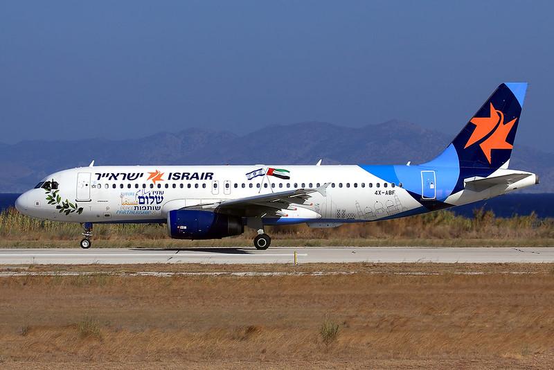 Israir  Airbus A320-232 4X-ABF