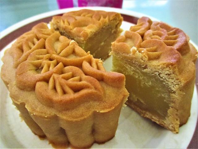 Sibu homemade mooncake, pek tao sar