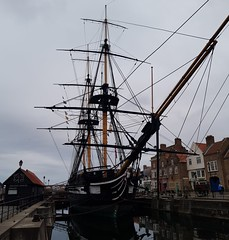 """""""Trincomalee"""" ship at National Museum of the Royal Navy, Hartlepool"""