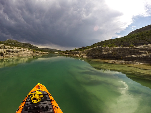 texas devilsriversna tpwd river devilsriver valverdecounty statepark nature outdoors paddling scene scenic vista landscape wild westtexas rapids hazard kayak clear deep clouds weather storm stormclouds