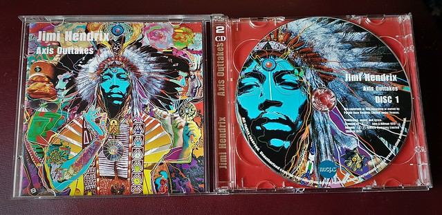 Jimi Hendrix...Axis Outtakes...2 CD