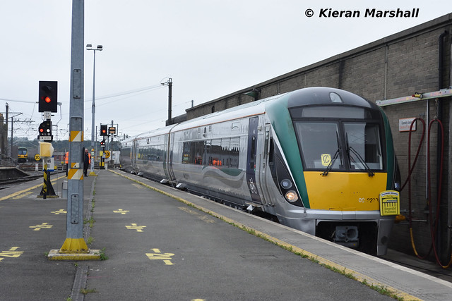 22003 arrives at Connolly, 14/8/20