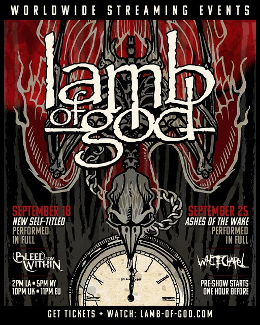 Lamb Of God Prepare For Live Stream This Friday