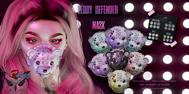 Teddy  defender mask♥