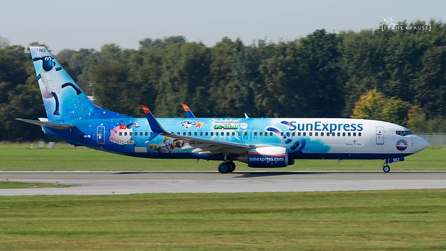 TC-SNU SUNEXPRESS BOEING 737-8HC(WL) cn 40756