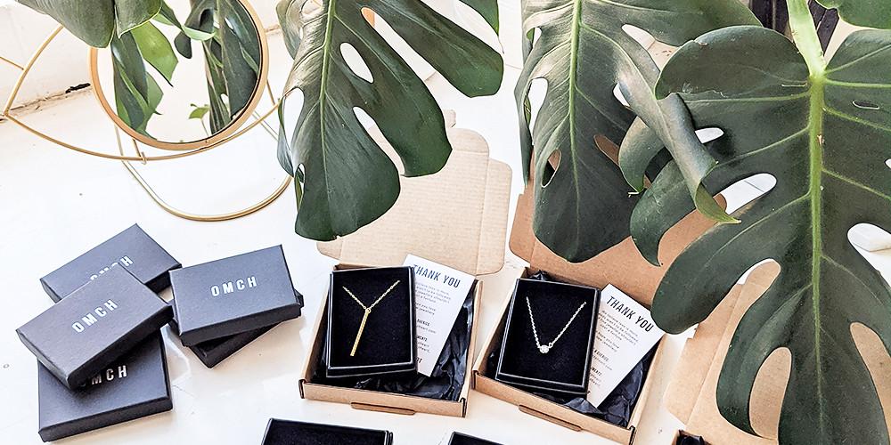 Sustainable Minimal Jewellery Brand