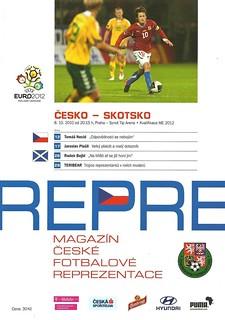 Czech Republic v Scotland 20101008