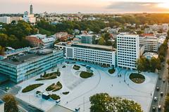 Square | Kaunas aerial