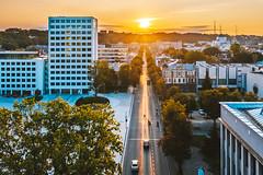 Sunrise | Kaunas aerial #265/365