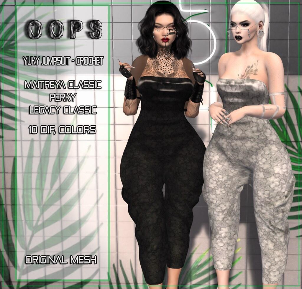 ::OOPS:: Yuky Jumpsuit – Crochet