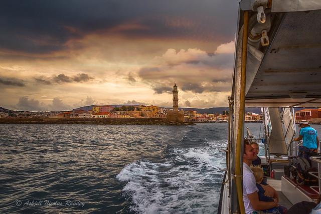 Chania boat trip