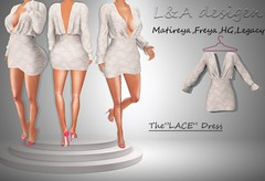LA the lace dress 70$ one week only