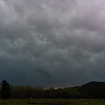 21. September 2020 - 17:33 - Cooma Road, New South Wales -- zoom in to see the streamers weaving in and out of the clouds!
