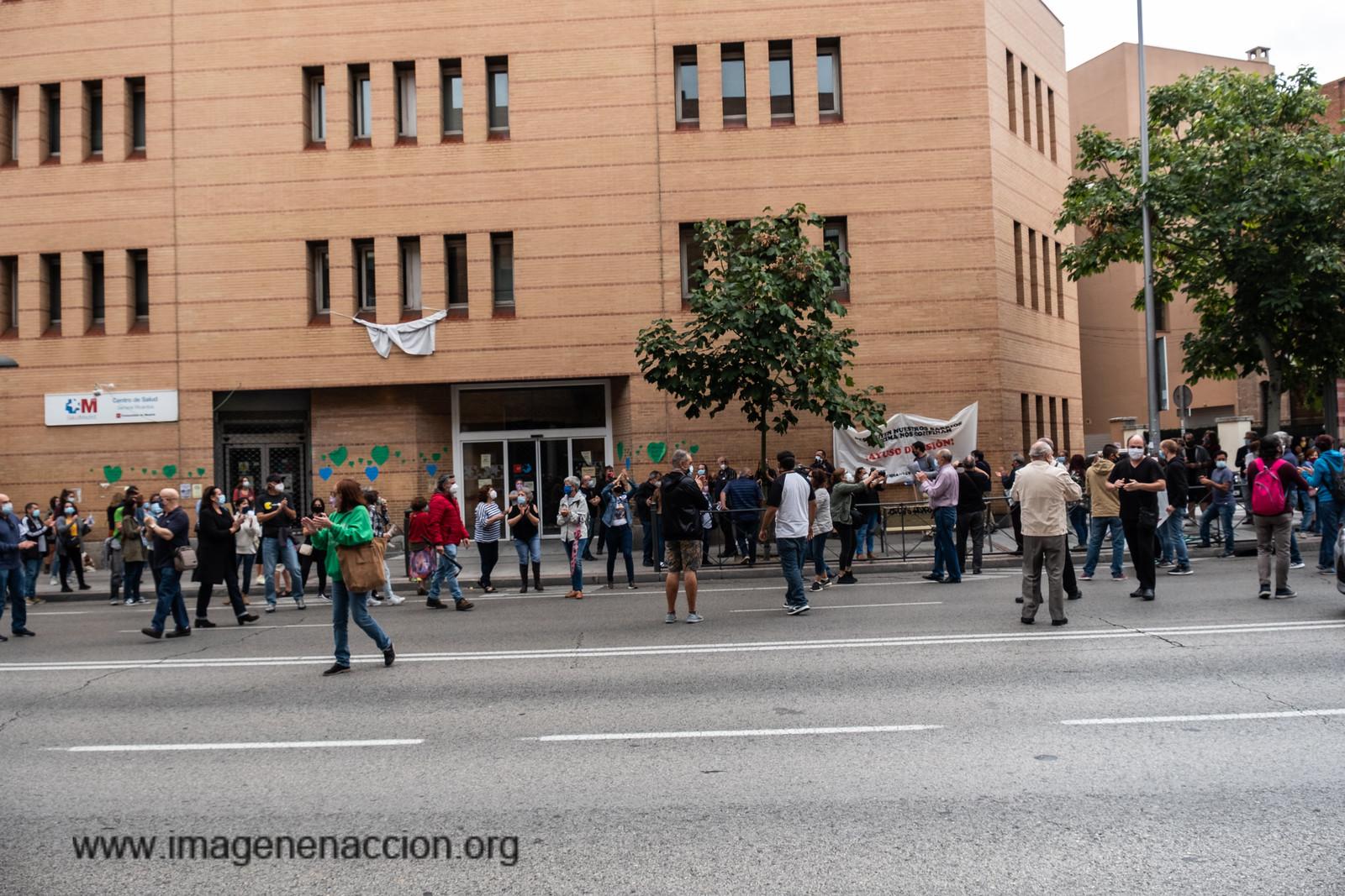 Imagen en Accion Marcha Protesta Confinamiento