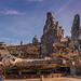 Millennium Falcon at the Black Spire Outpost