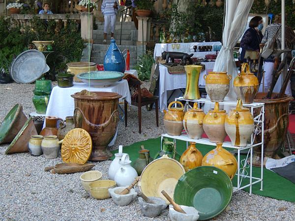 poteries provençales fayence