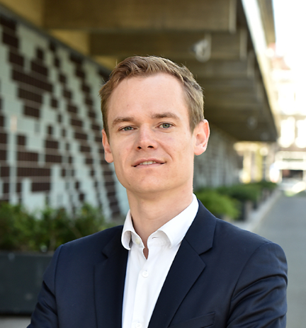 Photograph of Martijn Regelink