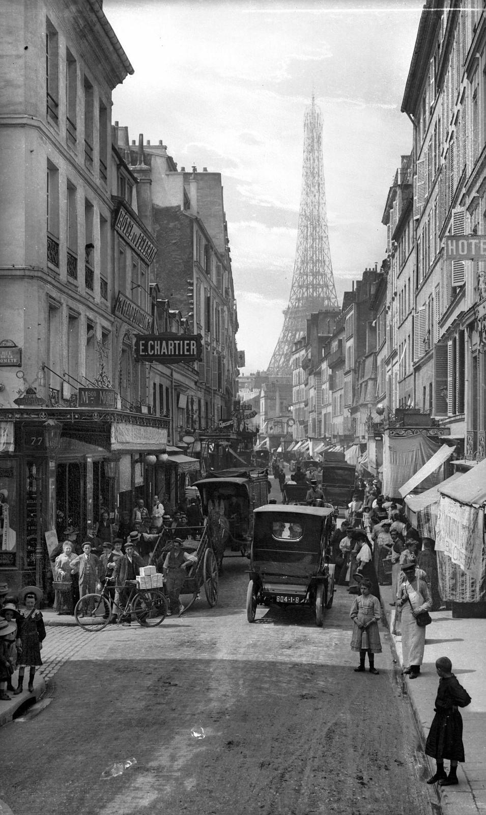 1900. Улица Сен-Доминик