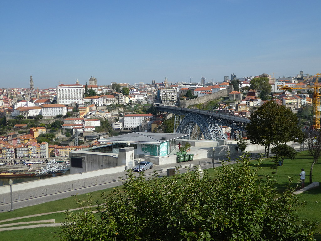Views from the Jardim do Morro, Porto