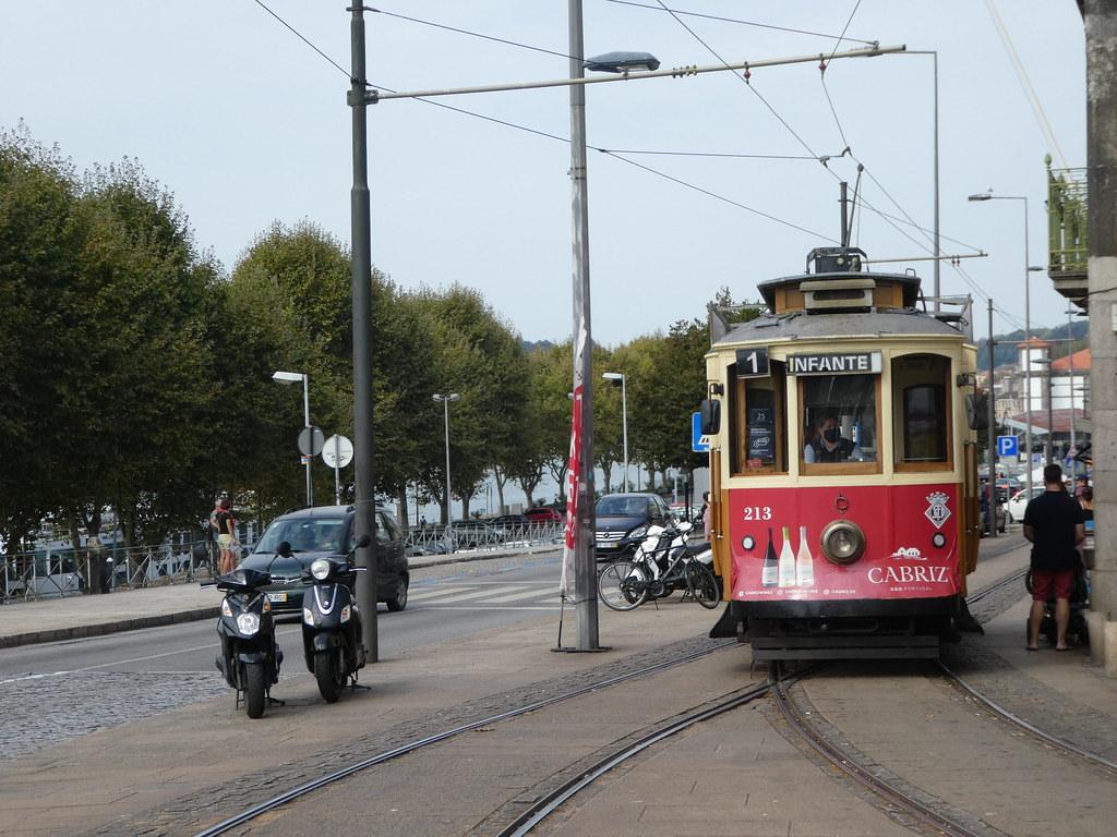 Heritage tram, Porto