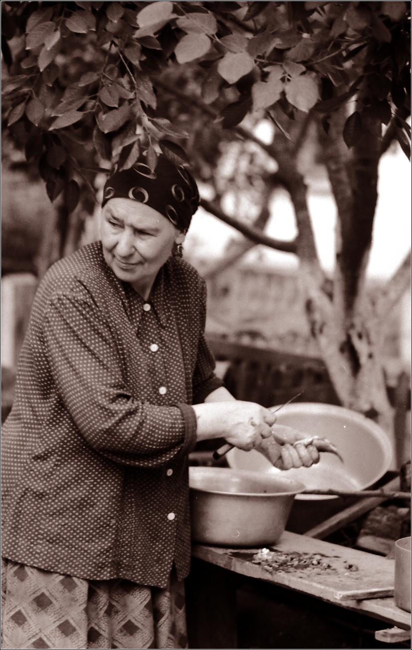 14. 1964. Село. Рыбный день