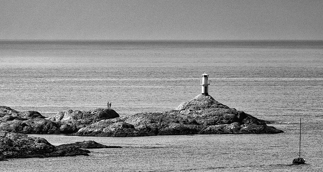 Lighthouse on Marstrand Island, Sweden