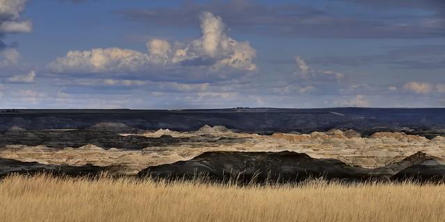 Shadows & Light - Red Deer River Valley, Dinosaur Provincial Park, Alberta ..