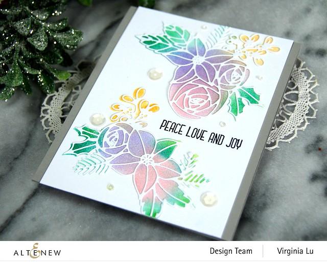 Festive Clusters Die Set-Ink blending Tool (Small)-Pale Gray Card Stock-001