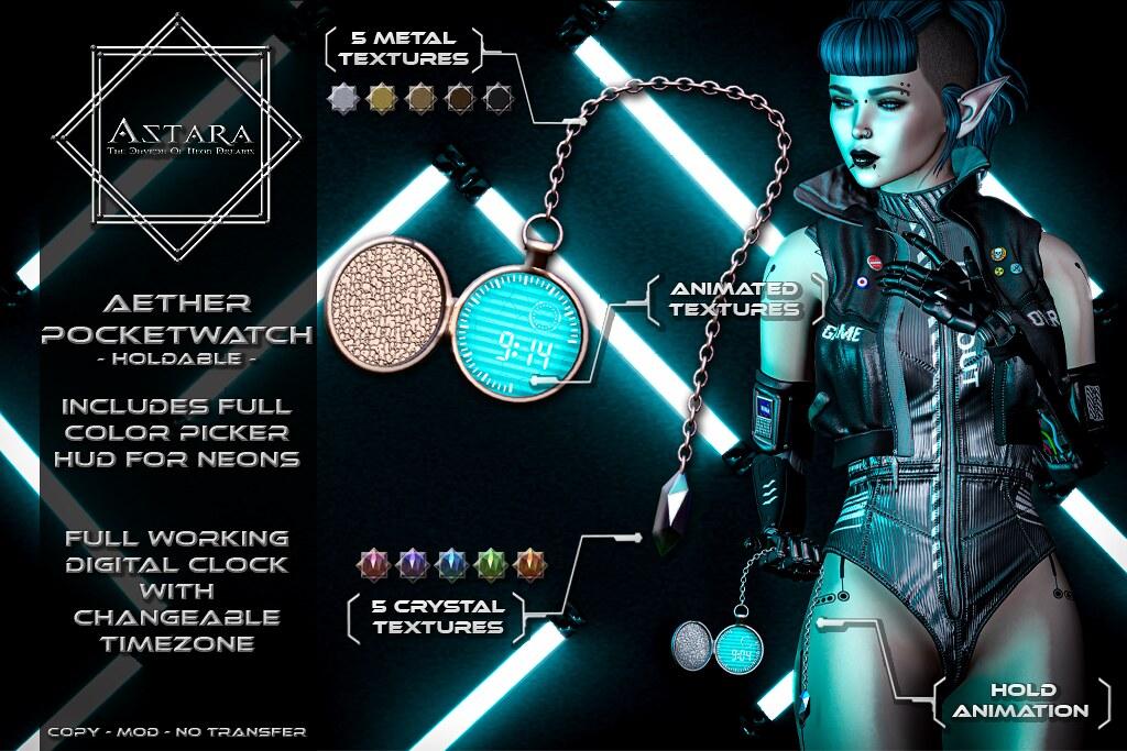 Astara – Aether Pocketwatch Ad