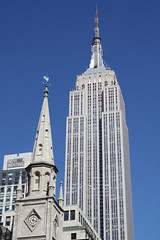 Empire State Building & Marble Collegiate Church