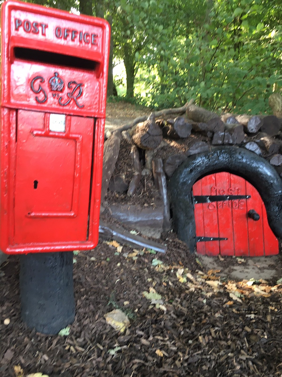 Peter Rabbit's Post Office Oxted Circular - No sign of the little lagomorph.