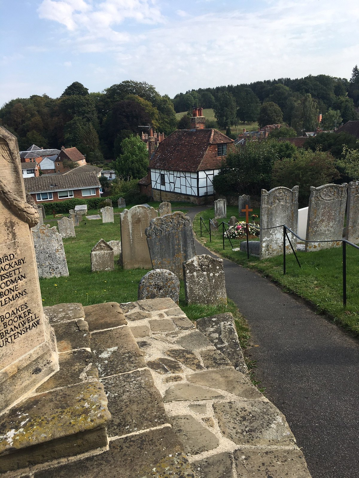 Westerham churchyard Oxted Circular