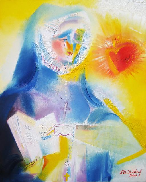 Saint Madeleine Sophie Barat. 2020 by Stephen  B. Whatley