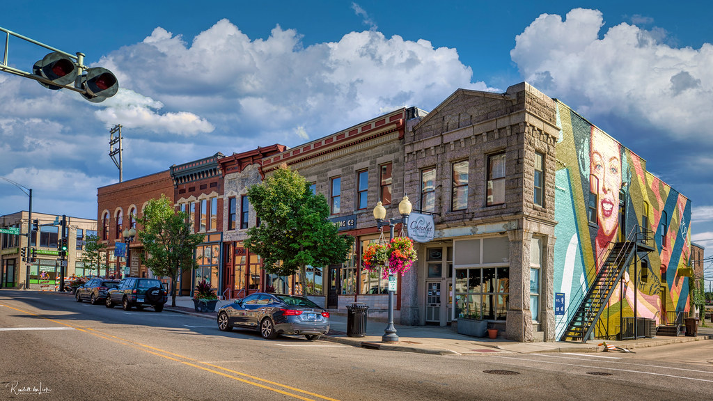 East Rockford Historic District, 200 Block E. State St., Rockford, Illinois