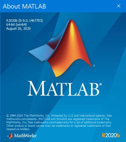 Mathworks Matlab R2020b (9.9.0) x64 full
