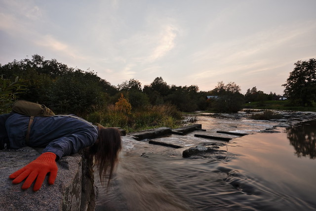 FDT #375 (examining the water)
