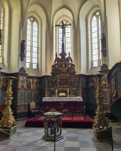 Gavnø castle church