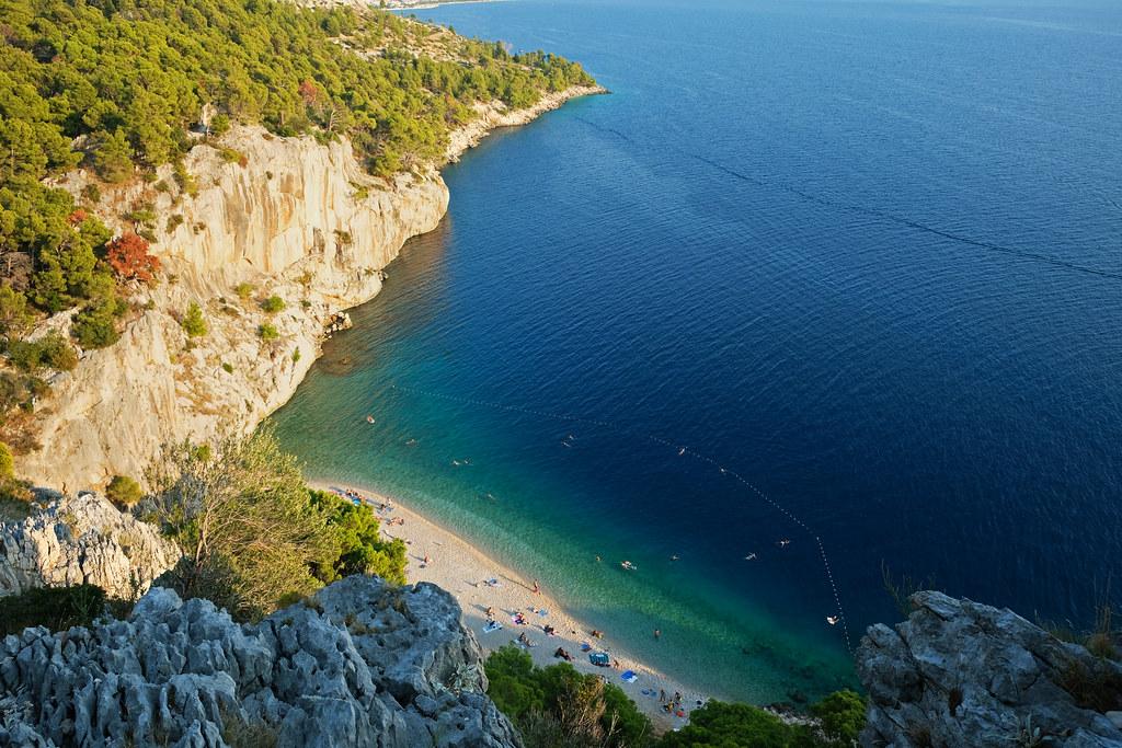 Nugal Beach, Makarska, Croatia