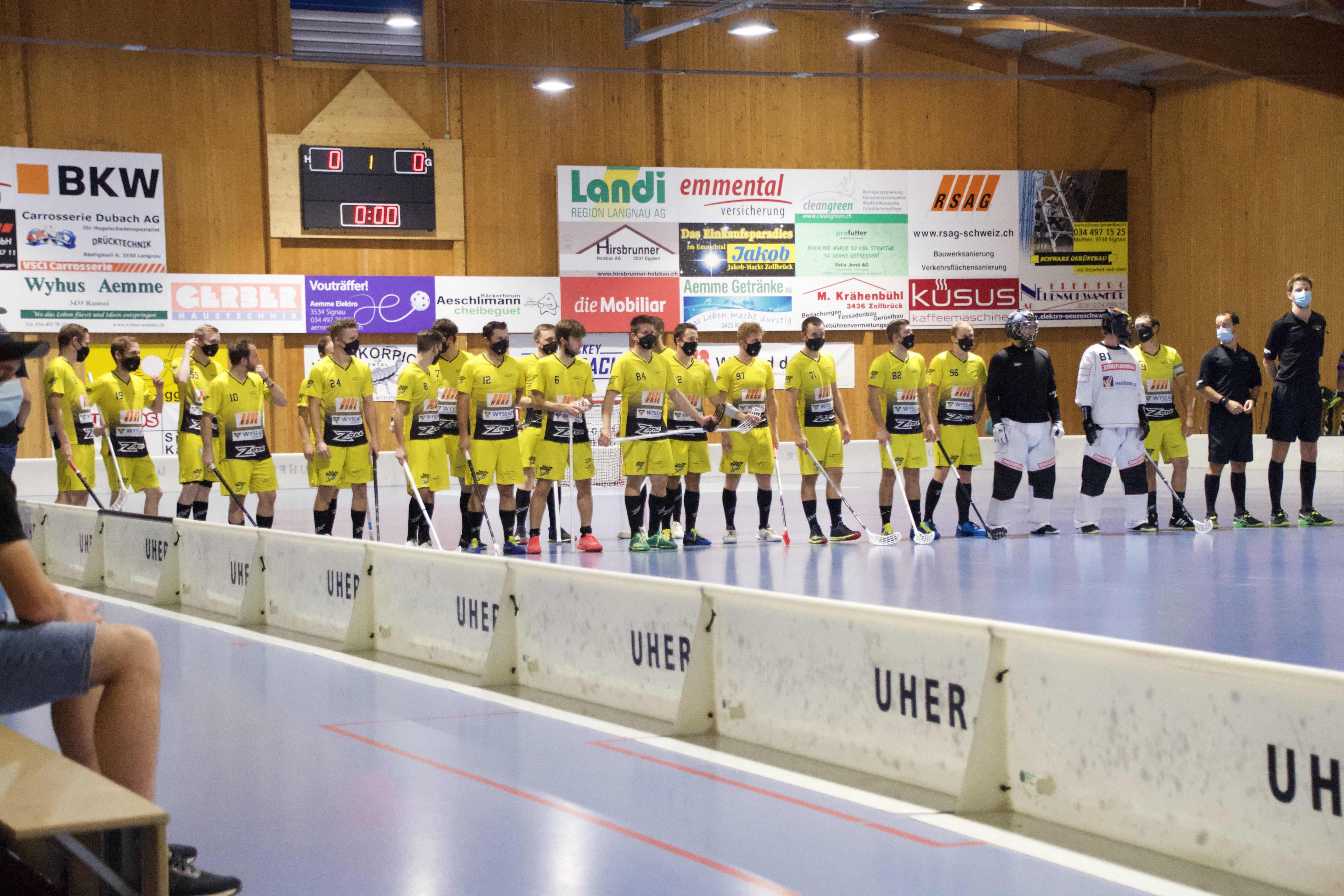 Herren l - Tinico Unihockey Saison 2020 / 2021