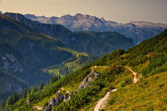 In the Berchtesgaden National Park