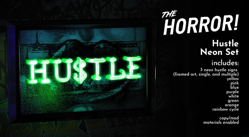 The Horror!~ Hustle Neon Set @ The Warehouse Sale | by The Horror!