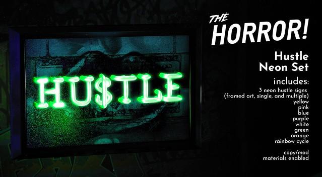 The Horror!~ Hustle Neon Set @ The Warehouse Sale