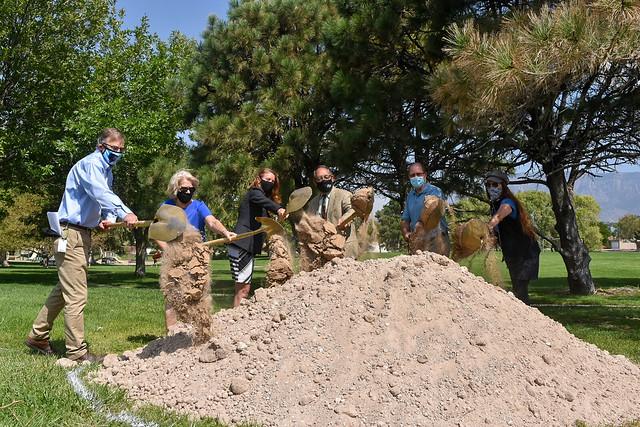 Lynnewood Park Renovation Groundbreaking