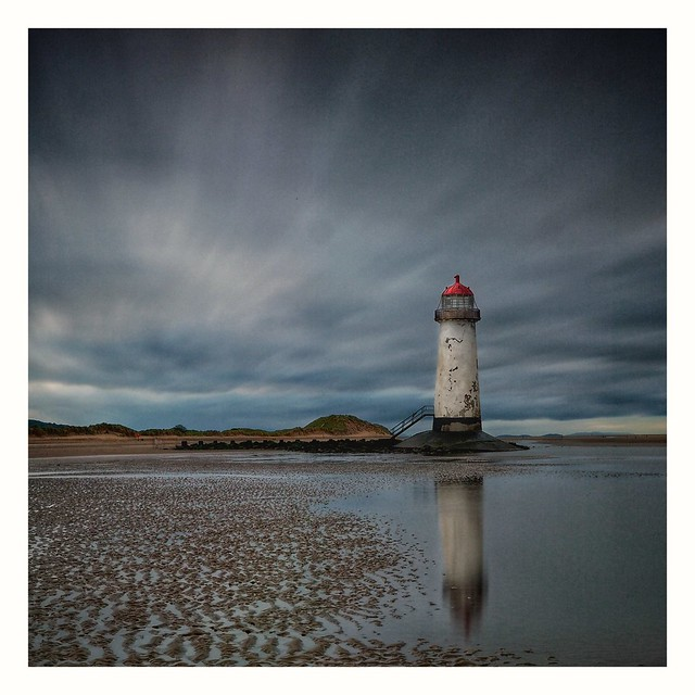 Telacre Lighthouse, Wales