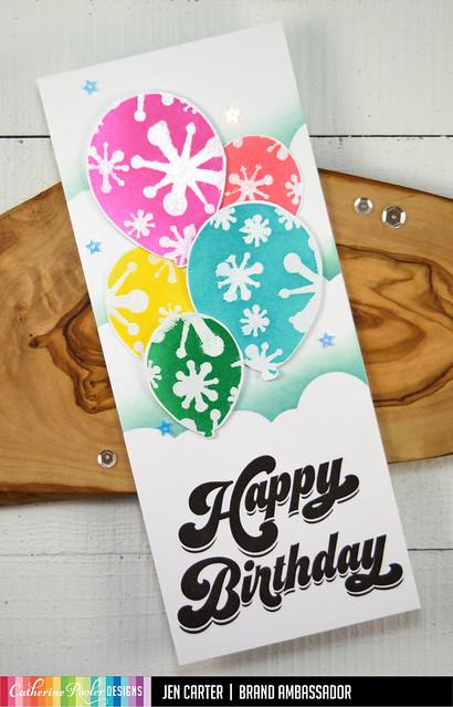 Jen Carter Birthday Balloons 1