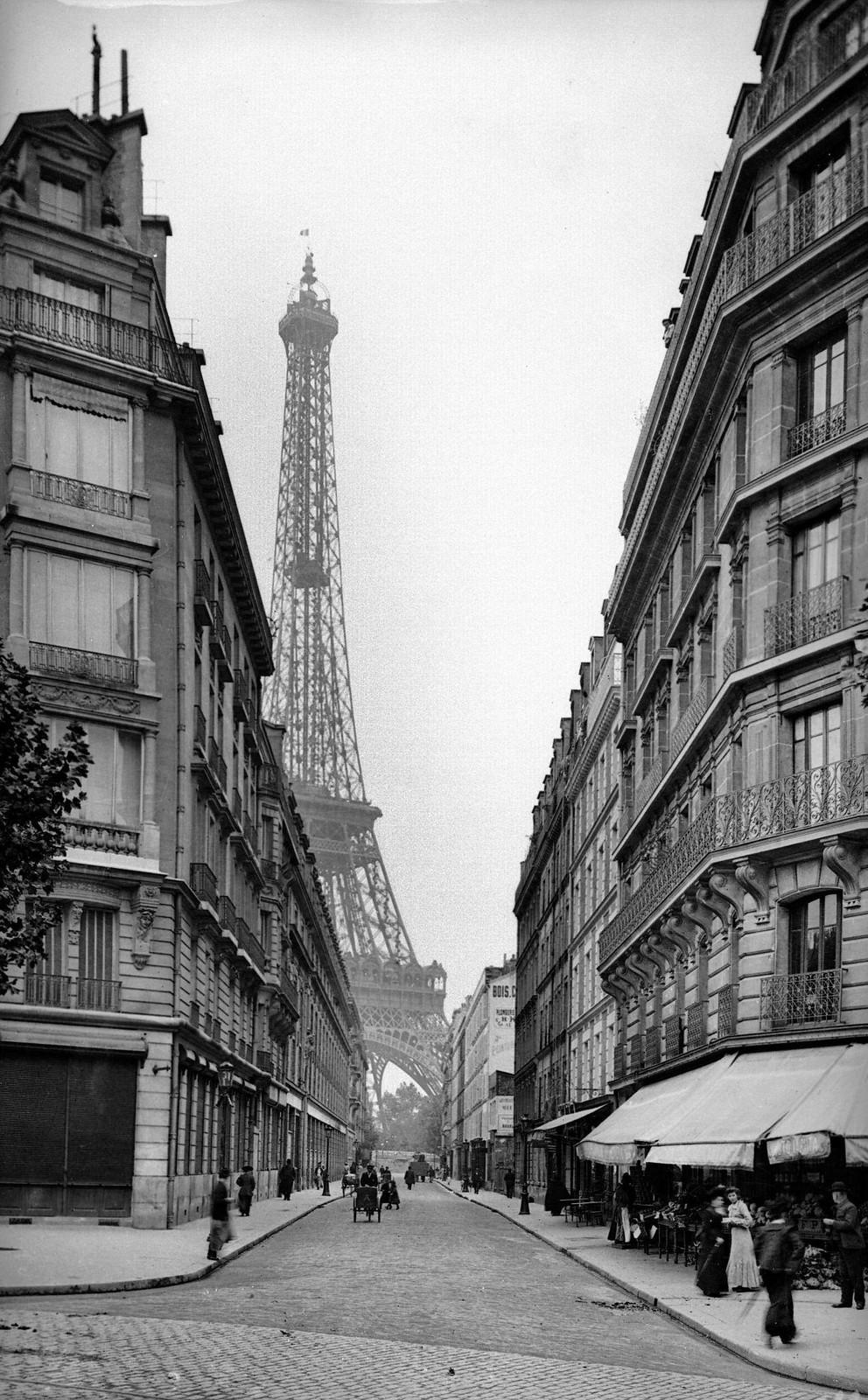 1900. Улица Монтесси